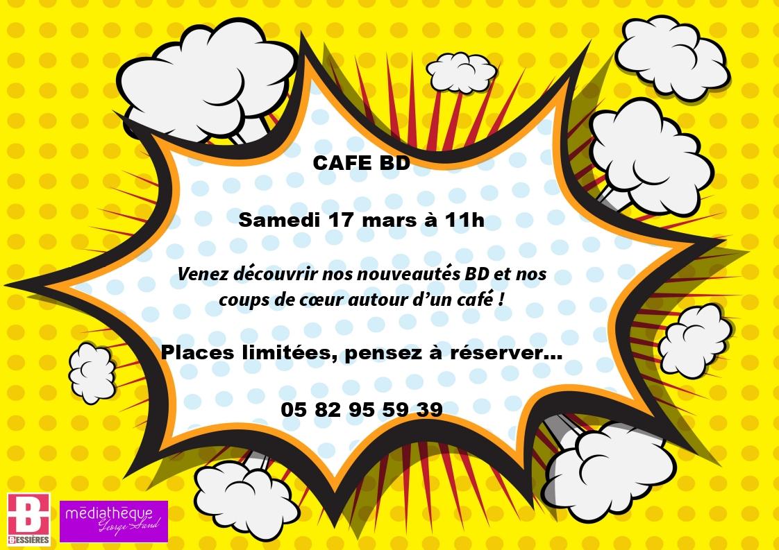 Café BD le Samedi 17 mars 2018