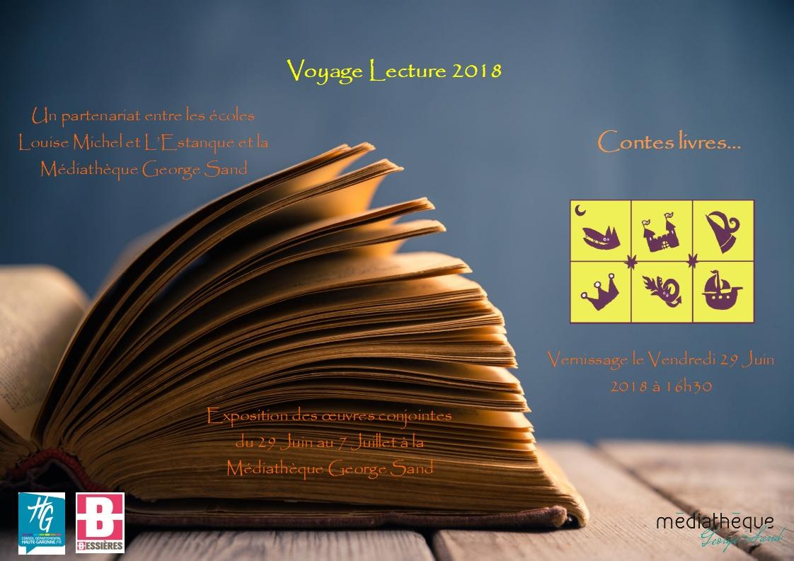 29 Juin, vernissage de l'exposition Voyage Lecture
