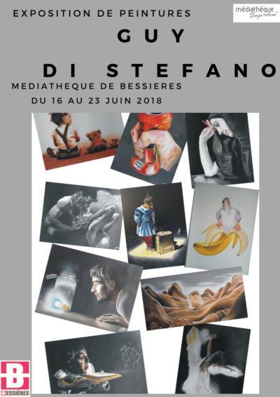 Exposition de peintures Guy di Stefano