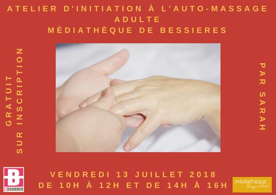 Atelier d'initiation à l'auto-massage gratuit