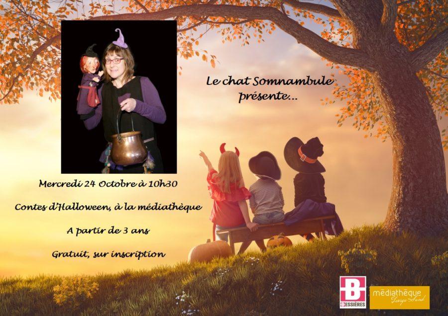 Contes d'Halloween par le Chat Somnambule