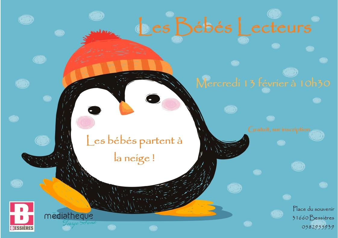 Les Bébés Lecteurs à la neige!