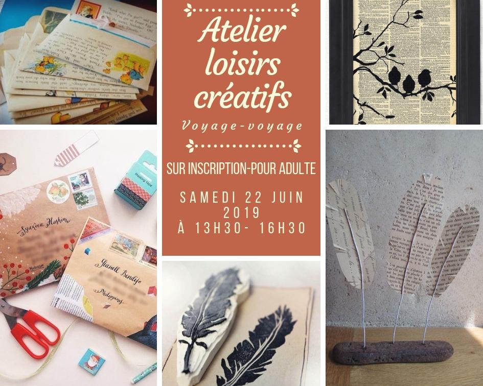 Ateliers DIY: Voyage voyage