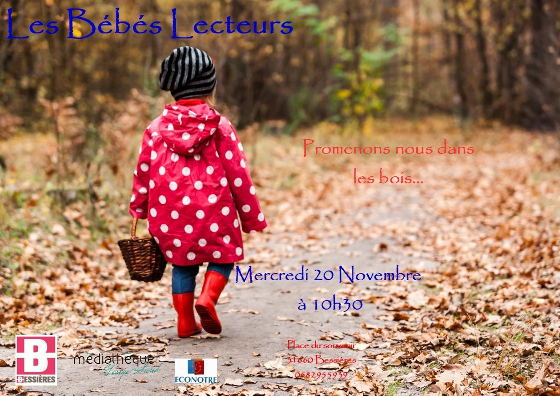 Bébé lecteur : promenons nous dans les bois