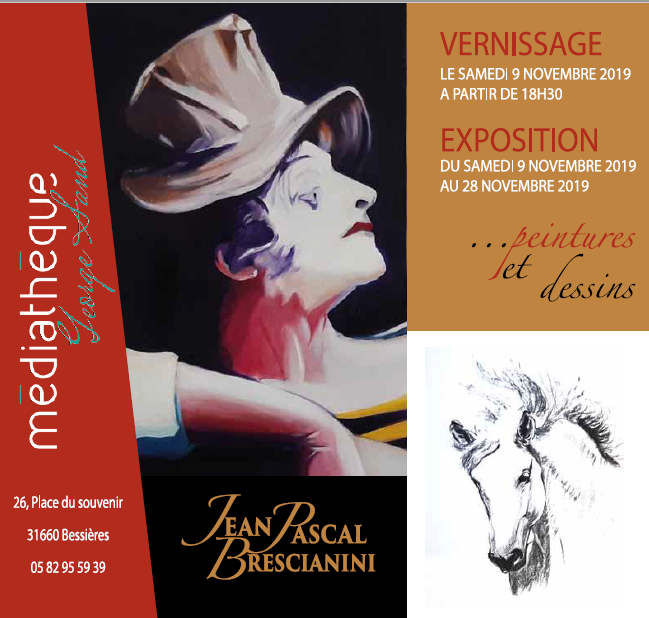 Exposition Jean Pascal Brecianini-Vernissage