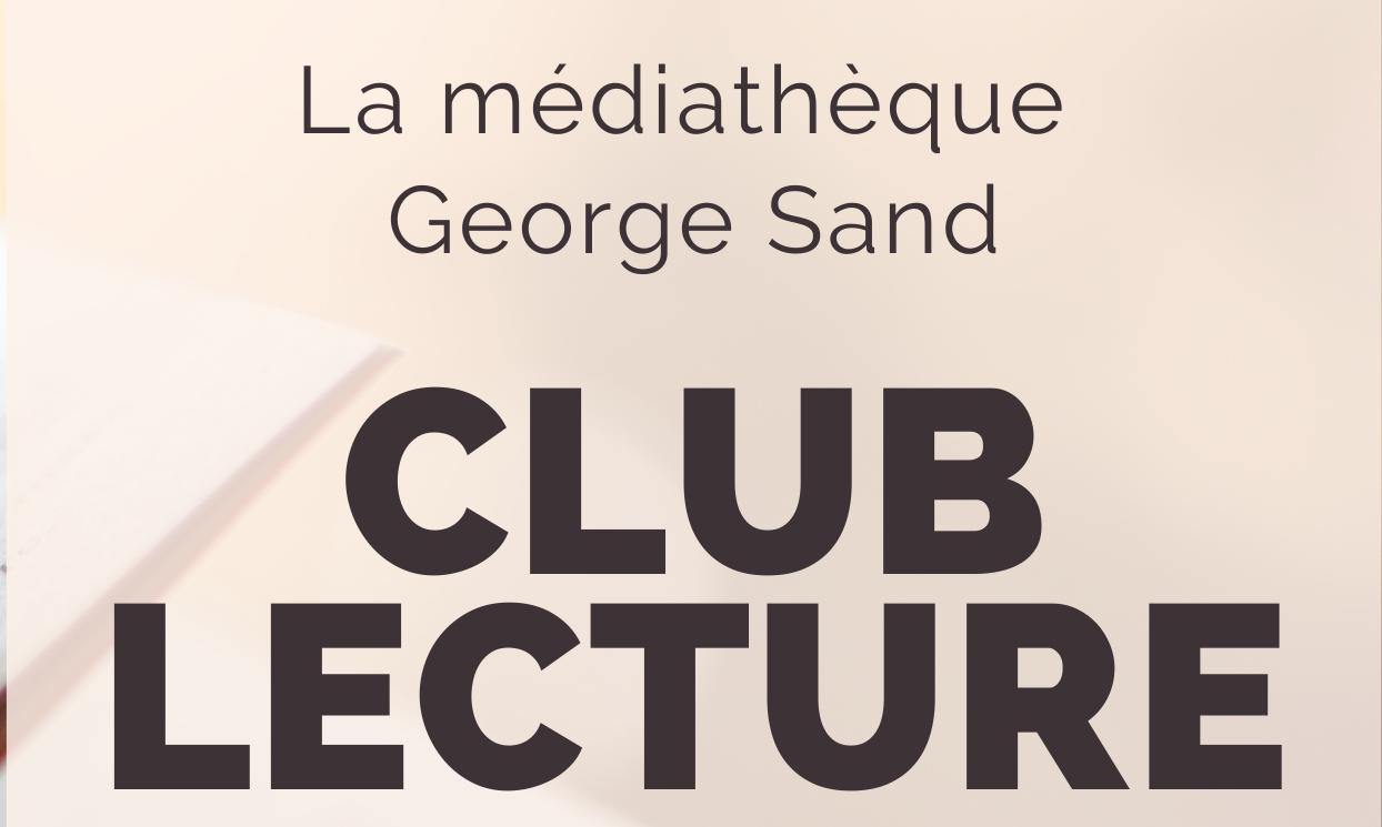 Club de lecture: Mercredi 30 septembre 2020 à 10h