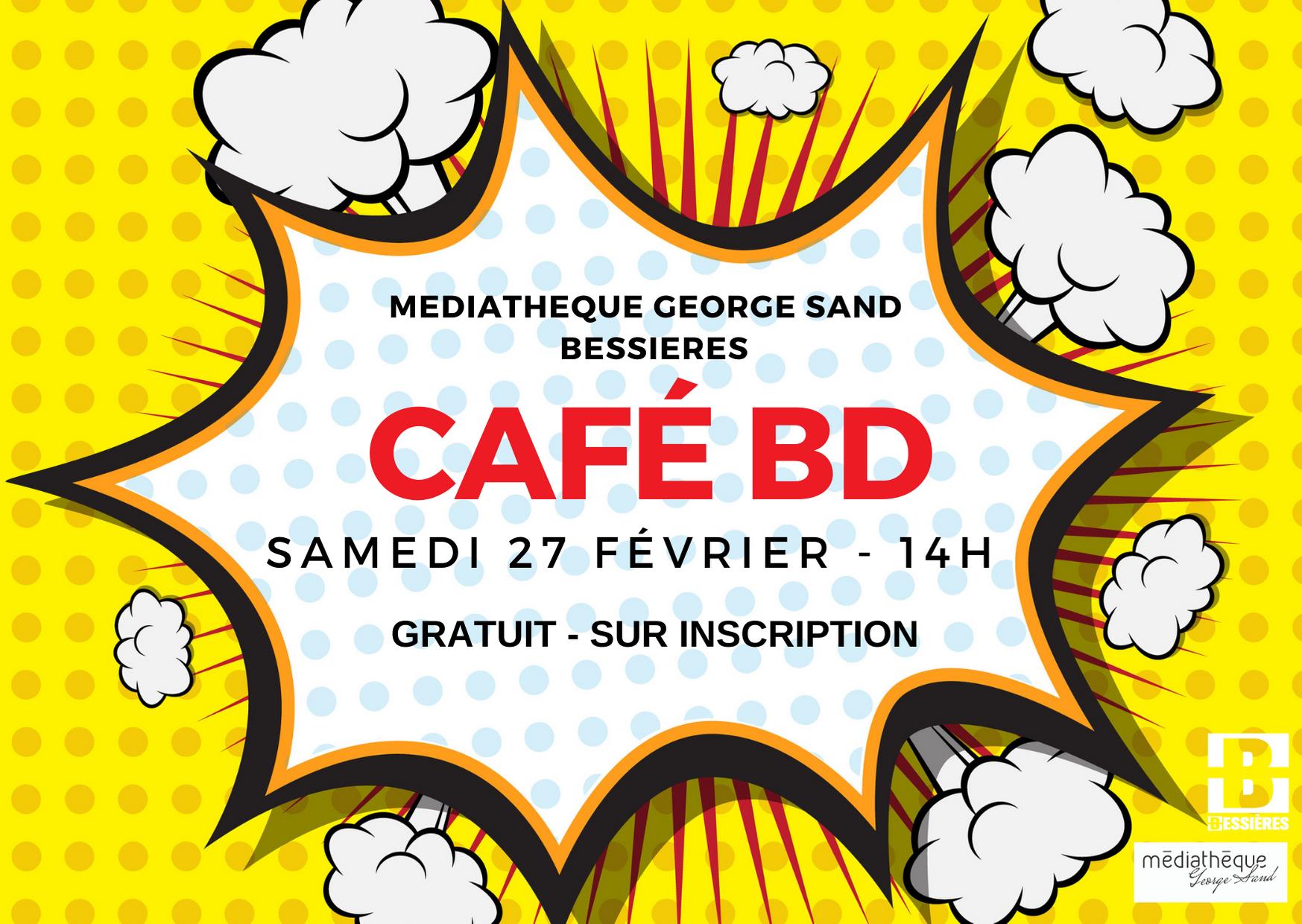 Café BD – Samedi 27 Février 2021