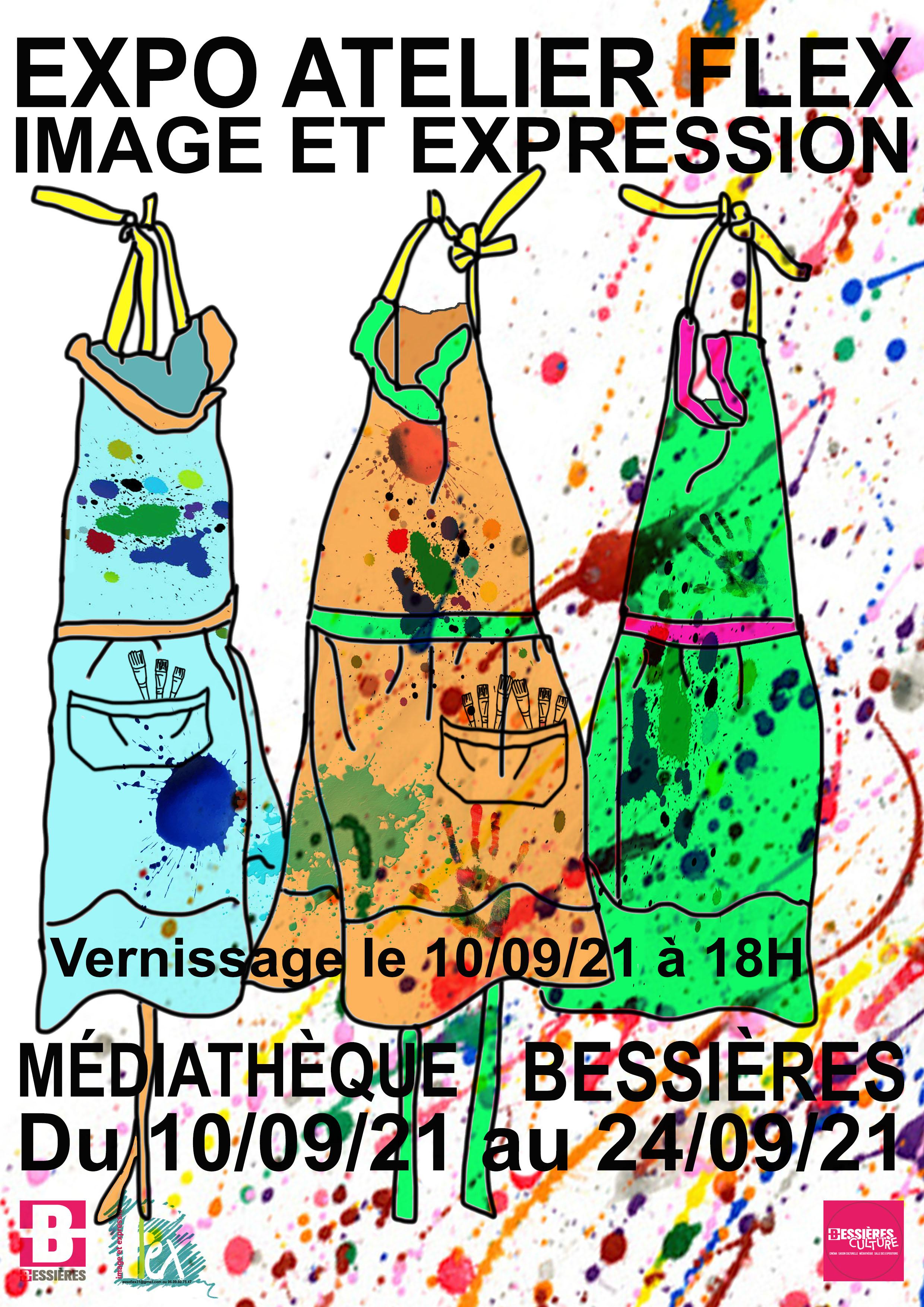 Exposition Flex: peintures et dessins du 10 au 24 septembre