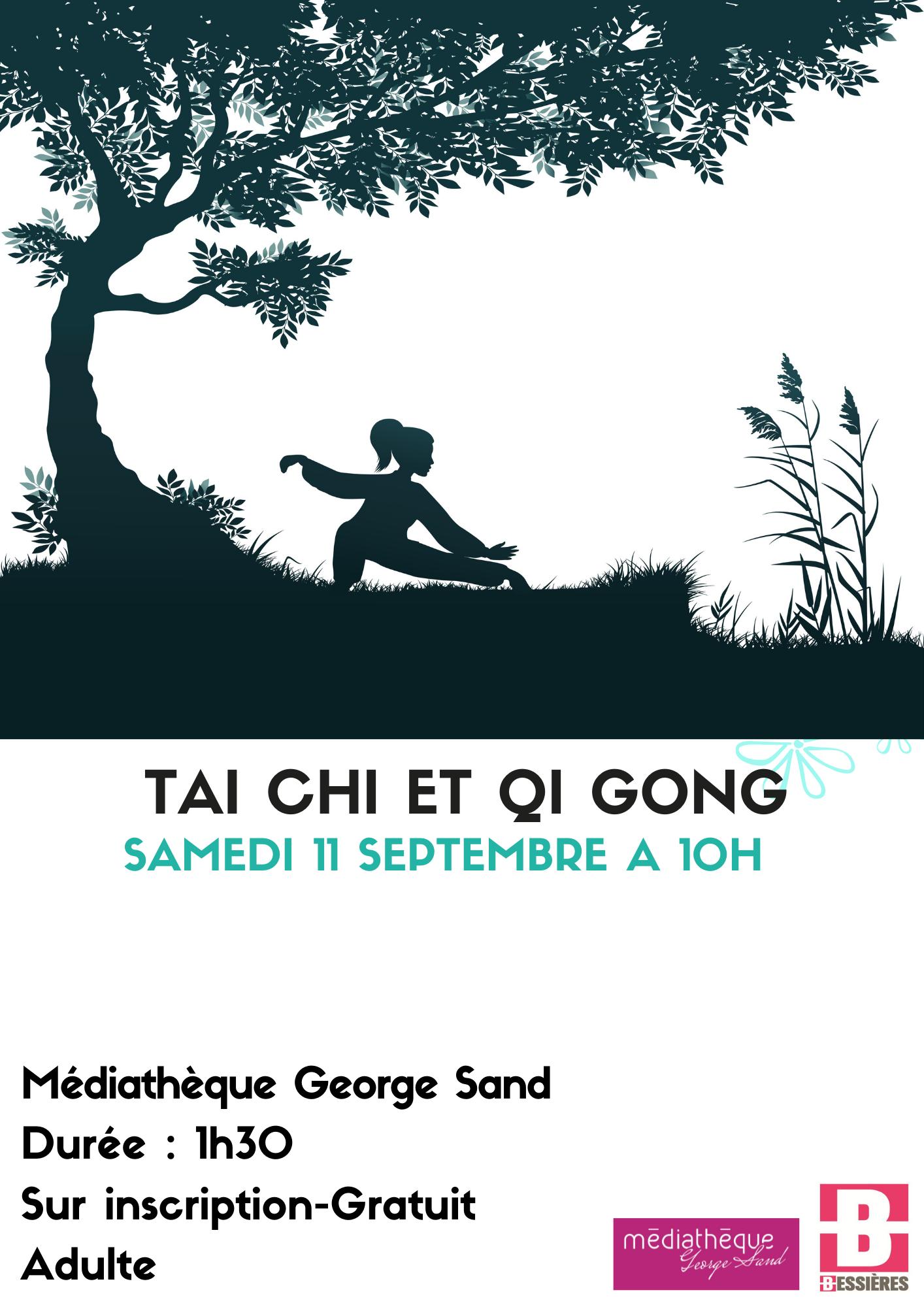 Taï Chi et Qi Gong samedi 11 septembre à 10h